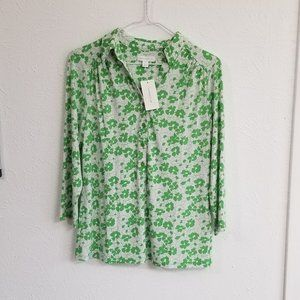 NWT Chapter Club 3/4 sleeve blouse